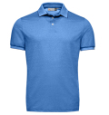 KJUS MEN SILVAN PRIMEFLEX POLO Aqua Blue