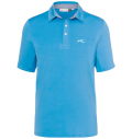 KJUS MEN JP SOREN SOLID POLO S/S WATER BLUE