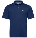 KJUS MEN JP SOREN SOLID POLO S/S NIGHT BLUE
