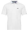 KJUS MEN JP SOREN SOLID POLO S/S WHITE