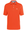 KJUS MEN JP SOREN SOLID POLO S/S ORANGE