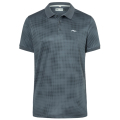 KJUS MEN SPOT PRINTED POLO S/S GREY