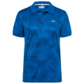 KJUS MEN SPOT PRINTED POLO S/S BLUE