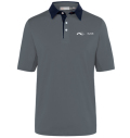 KJUS MEN JP SUPERLOAD POLO TOUR LOGO  GREY