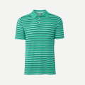 KJUS MEN LUIS MULTICOLOR STRIPE POLO S/S TROPICAL SEA