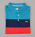 KJUS MEN LUAN CB POLO S/S GREEN/NAVY/RED
