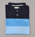 KJUS MEN LUAN CB POLO S/S DARK NAVY/BLUE/LIGHT BLUE