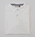 KJUS MEN SOREN SOLID POLO S/S WHITE
