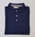 KJUS MEN SOREN SOLID POLO S/S NAVY