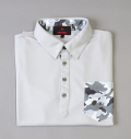BRIEFING PARTS CAMO SHIRTS GRAY