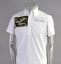 Tranvi TRSHB-007 Camo Plate shirts White/Green