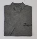 Tranvi TRCTB-05 Mock Neck Shirts Gray