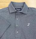 Tranvi TRSHB-036 Semi-wide Collar Stretch Shirts Navy