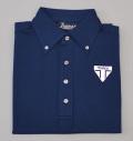 Tranvi TRSHB-037 Primeflex Back Stripe  Shirts Navy