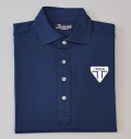 Tranvi TRSHB-040 Primeflex Semi-wide Collar Shirts Navy