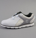 2018 FootJoy Pro/SL BOA Custom White/Houndstooth/White Silver Sphinx
