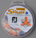 Champ Stinger Tri-Lok for Footjoy Orange/White