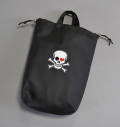 AM&E Skull Shoe Bag Black