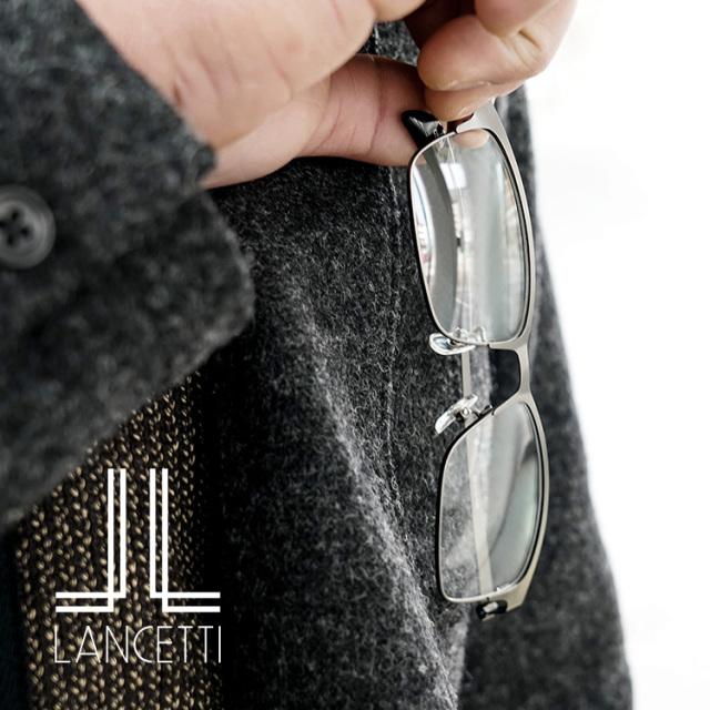おしゃれ老眼鏡 メンズ ランチェッティ 日本製ブルーライトカットレンズ 男性用 リーディンググラス LC-R701 LC-R702 LC-R703