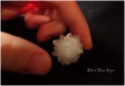 毎日ひとつ 神秘のクリスタル 018 金平糖水晶