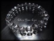 ハイパーエナジーブレス 水晶のスターカット 8mm 画像1