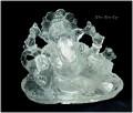 レアな石達 クリスタルガネーシャ(ヒマラヤ・ガネーシュヒマール産 本水晶彫物)