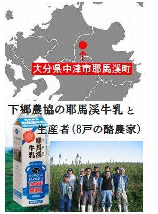 原材料の鮮度と無添加にこだわった 九州大分県下郷農協のアイスミルク