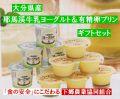 原材料の鮮度と無添加にこだわった 九州大分県下郷農協のプリンとヨーグルトギフトセット