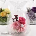 仏花 天使のガラスドーム