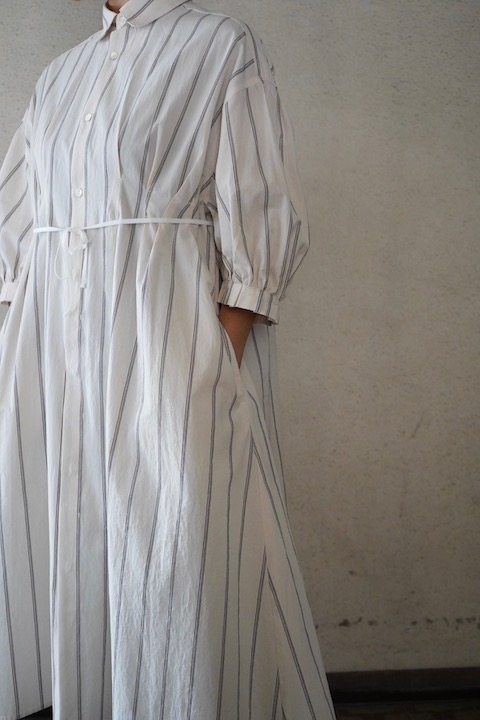 ASEEDONCLOUD peasant dress stripe