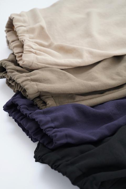 NO CONTROL AIR ポリエステルツイル裾ゴムバルーンパンツ