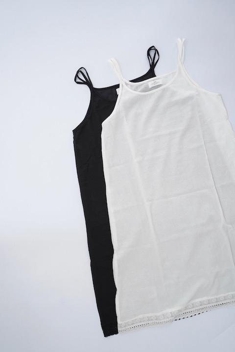 SOIL ボイルコットンアンダーキャミドレス