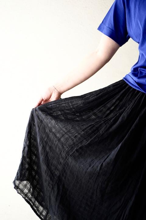 SOIL パッチワークギャザースカート
