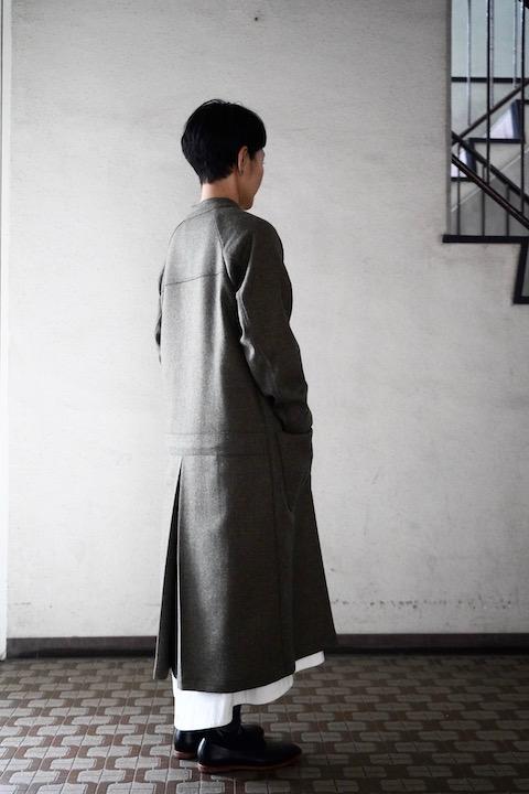 ASEEDONCLOUD wool knocker coat