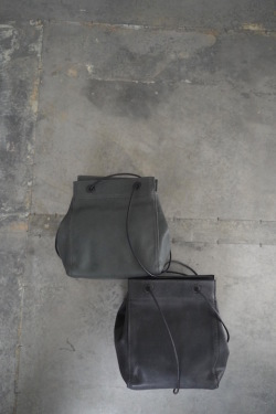 Teha'amana Leather ミニ巾着TOTE BAG