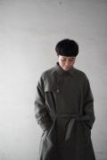 ASEEDONCLOUD wool spriggan coat