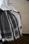 ARTE POVERA リメイクアフガンストールスカート