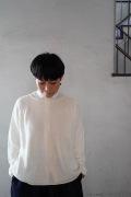 FACTORY リネンロールネックセーター(裾解放バージョン)