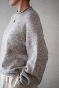 【一部再入荷】FACTORY WOOL裾カーブセーター