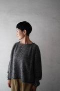 【一部再入荷】FACTORY WOOLロールネックショート丈セーター