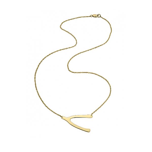jennifer zeuner/Wishbone Necklace