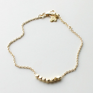 Gag et Lou/Studs Bracelet gold