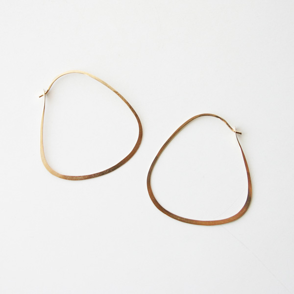 【再入荷】 MELISSA JOY MANNING/triangle hoop
