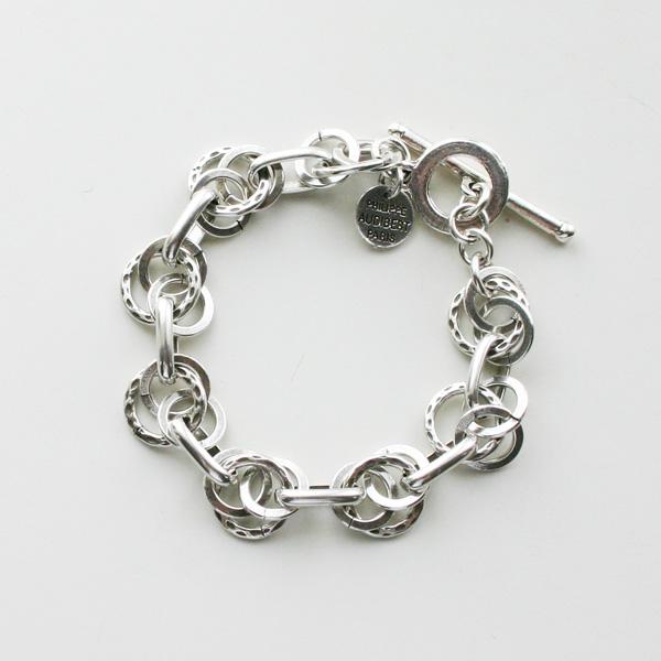 PHILIPPE AUDIBERT/Ubert bracelet brass silver color