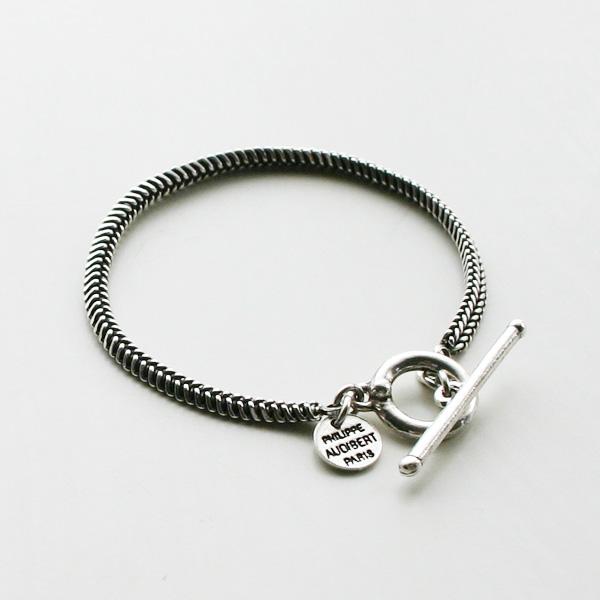 【再入荷】 PHILIPPE AUDIBERT/Etienne bracelet, brass silver color,