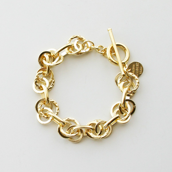 PHILIPPE AUDIBERT/Ubert bracelet brass light gold color,