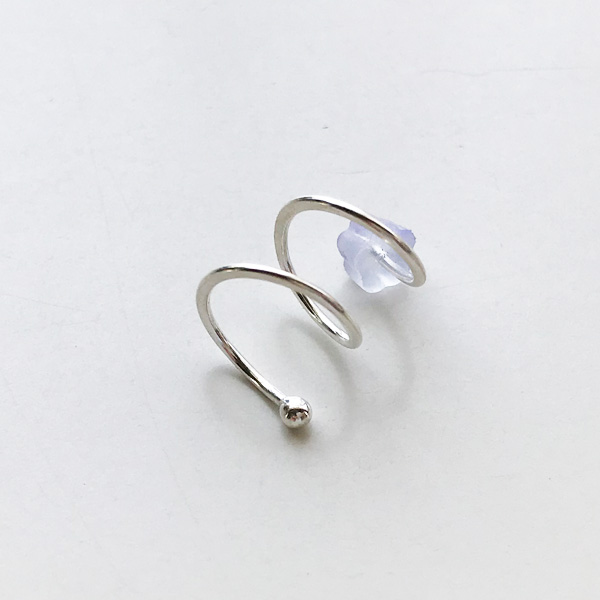 【30%OFF】 MELISSA JOY MANNING/Sterling silver double hug earring. Right