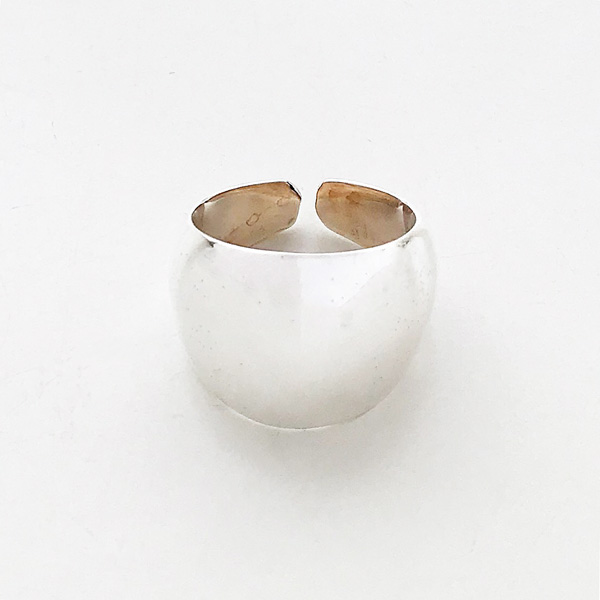 【予約販売/7中再入荷(変更有)】  PHILIPPE AUDIBERT/Addison ring brass silver color,