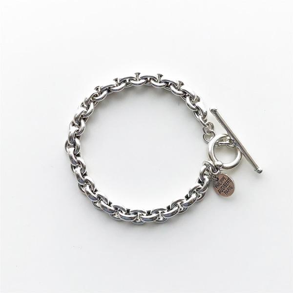 【再入荷】 PHILIPPE AUDIBERT/Franck bracelet brass silver color,