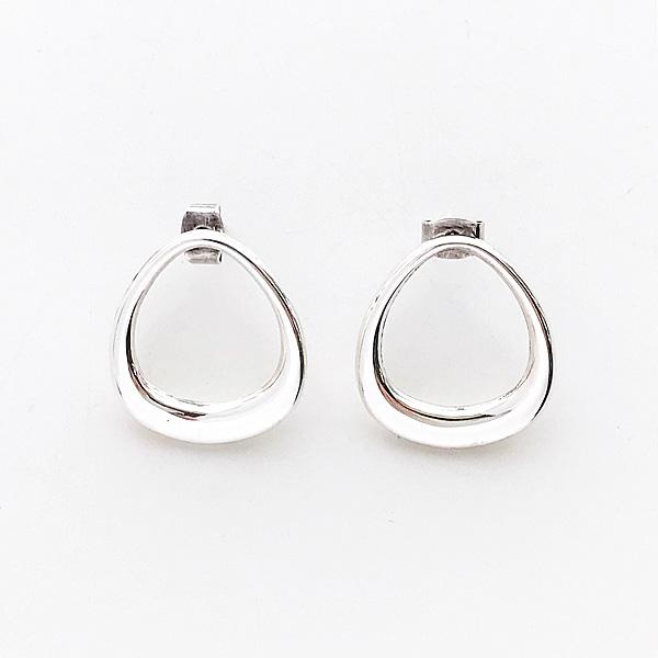 PHILIPPE AUDIBERT/AI U earrings brass silver color,